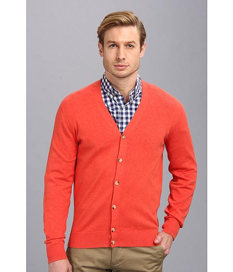 Ben Sherman The Cardigan (Cranberry Marl) Men's Sweater
