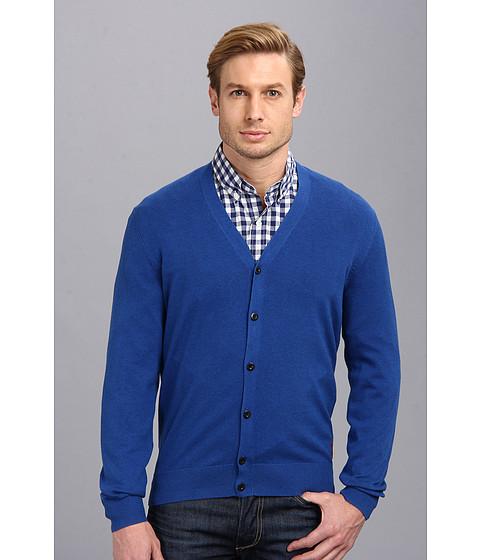 Ben Sherman The Cardigan (Aegean Marl) Men's Sweater