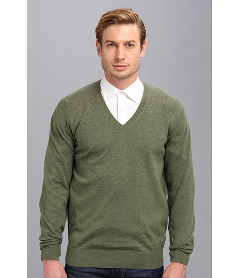 Ben Sherman - The V-Neck (Four Leaf CL) Men's Sweater