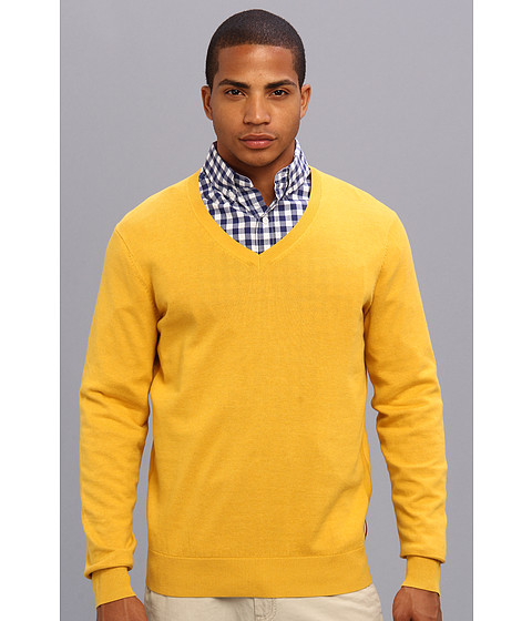Ben Sherman - The V-Neck (Lemon Marl) Men's Sweater
