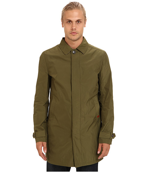 Ben Sherman - Memory Nylon Mac (Winter Moss) Men