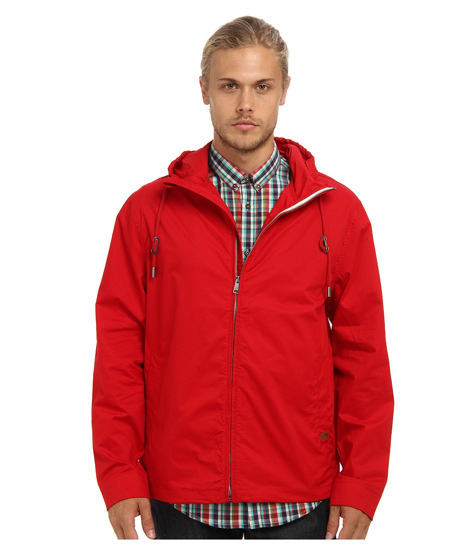 Ben Sherman - Hooded Zip Through (Dawn Red) Men's Coat