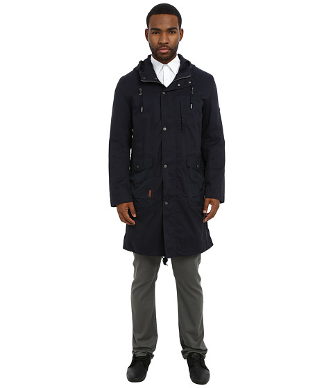 Ben Sherman - Cotton Parka (Staples Navy) Men's Coat