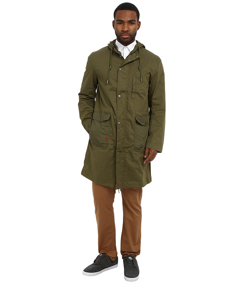 Ben Sherman - Cotton Parka (Winter Moss) Men's Coat
