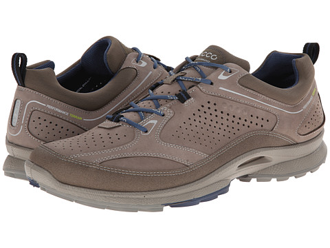 ECCO Sport - Biom Ultra Quest Plus (Warm Grey/Warm Grey/Denim Blue) Men