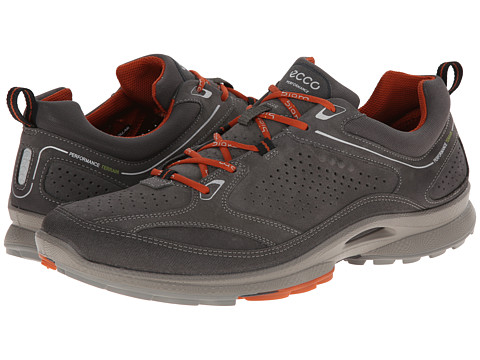 ECCO Sport - Biom Ultra Quest Plus (Dark Shadow/Dark Shadow/Picante) Men's Shoes
