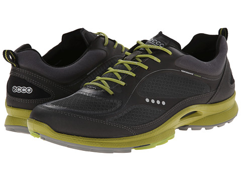 ECCO Sport - Biom Ultra Sport (Black/Dark Shadow/Herbal) Men's Walking Shoes