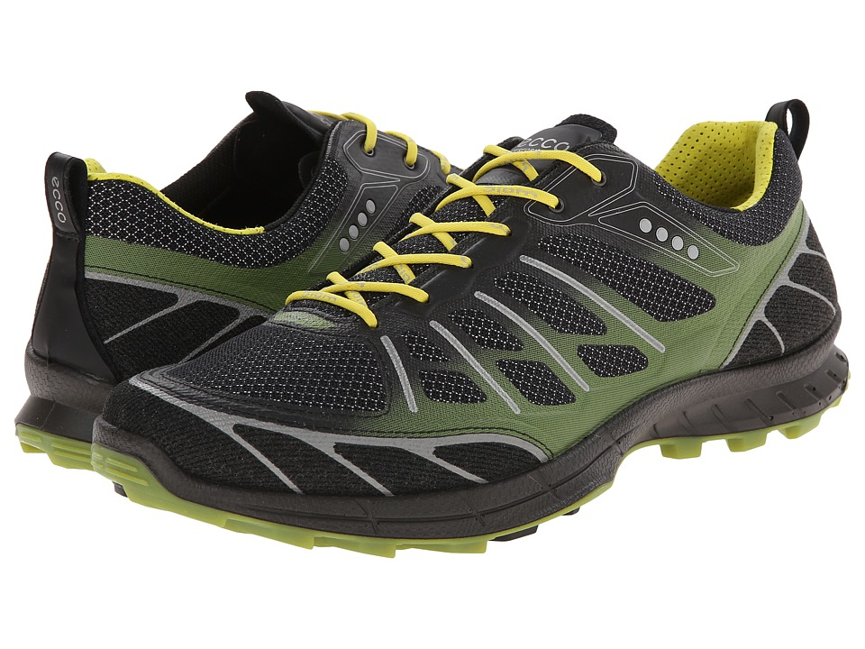 ECCO Sport - Biom Trail Sport (Black/Black/Herbal) Men's Running Shoes