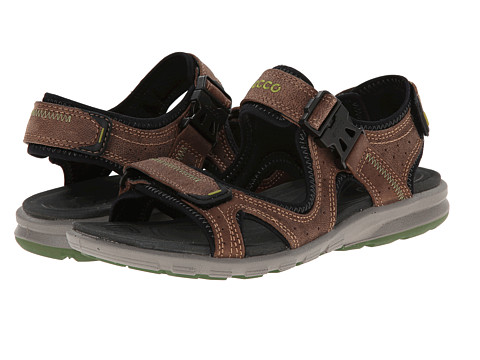 ECCO Sport - Cruise Strap Sandal (Cocoa Brown) Men's Shoes