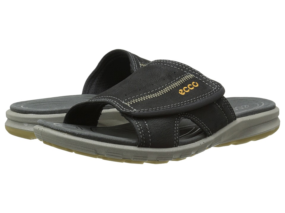 ECCO Sport - Cruise Slide Sandal (Black) Men's Shoes