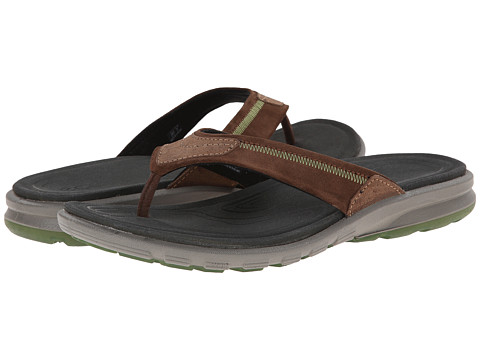 ECCO Sport - Cruise Thong Sandal (Cocoa Brown/Cocoa Brown) Men's Shoes