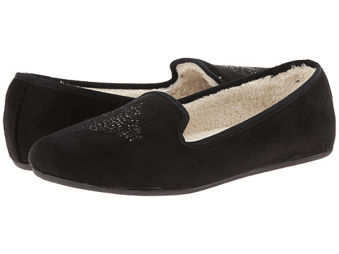 Hush Puppies Slippers - Carnation (Black) Women's Slippers