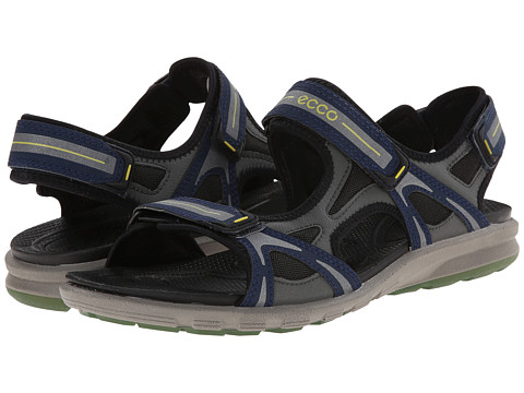 ECCO Sport - Cruise Sport Strap Sandal (True Navy/Dark Shadow/Pagoda Blue) Men's Shoes