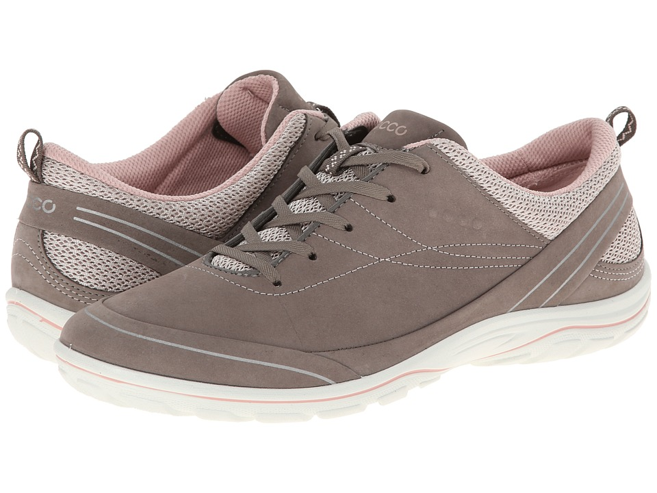 ECCO Sport - Arizona Tie (Warm Grey/Rose Dust) Women's Shoes