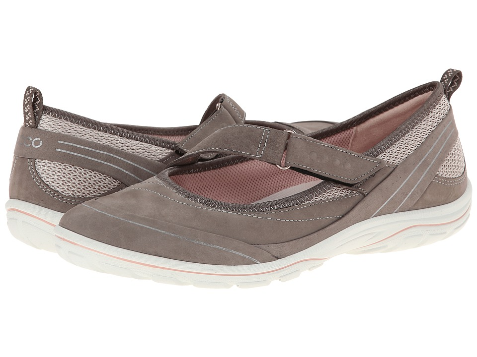 ECCO Sport - Arizona Strap (Warm Grey/Rose Dust/Rose Dust) Women's Shoes