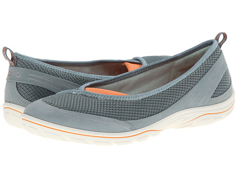 ECCO Sport - Arizona Ballerina (Trooper/Trooper/Papaya) Women's Shoes
