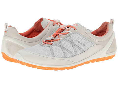 ECCO Sport - Biom Lite Toggle Sport (Shadow White/Coral) Women's Shoes