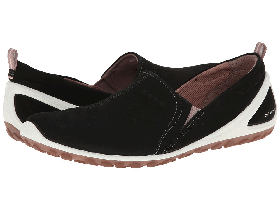 ECCO Sport - Biom Lite Slip On (Black/Woodrose) Women's Shoes