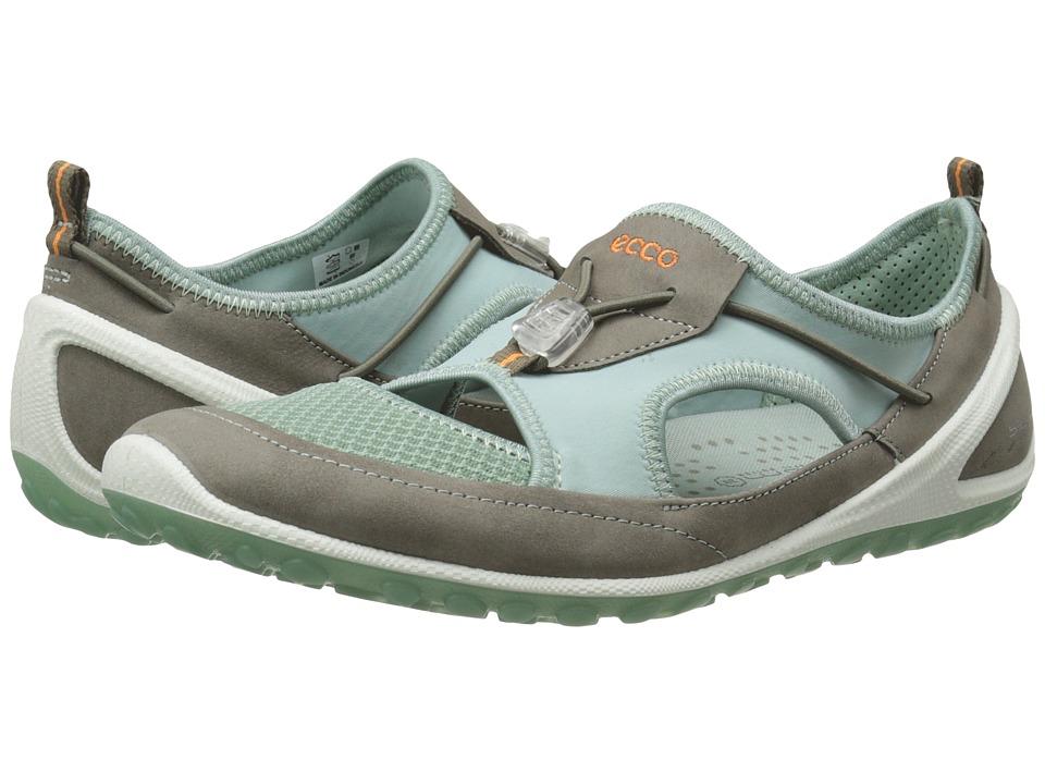 Womens Shoes ECCO Sport Biom Lite Stretch Warm Grey/Ice Flower