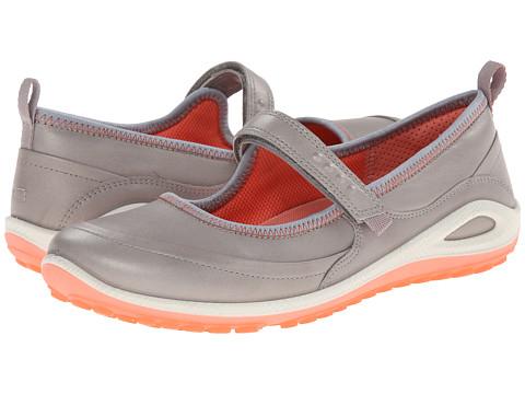 ECCO Sport - Biom Grip Lite Maryjane (Silver Grey/Coral) Women