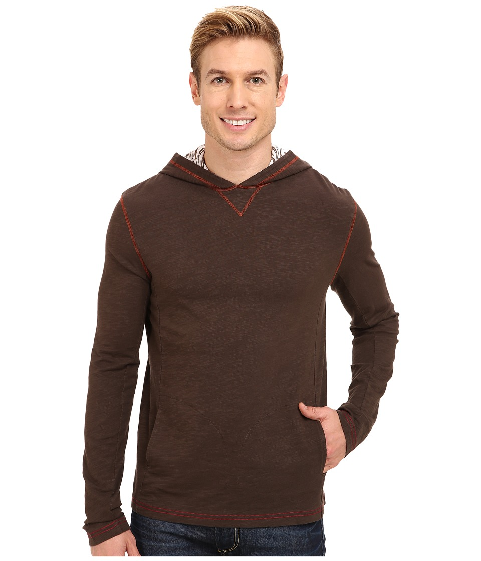 Ecoths - Jameson Hoodie (Sable Brown) Men's Sweater