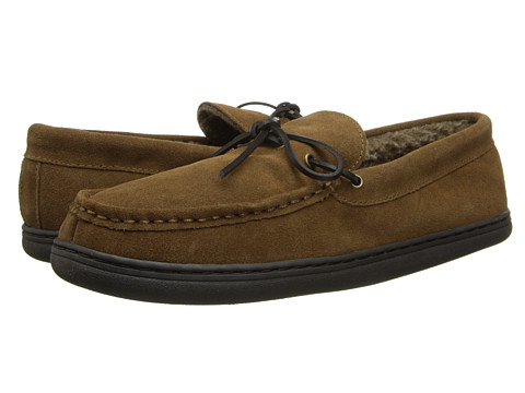 Hush Puppies Slippers - Northern Oak (Chestnut) Men's Slippers