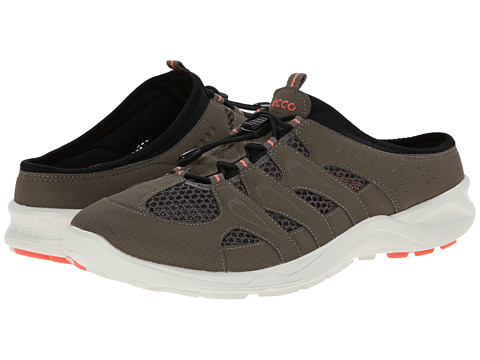 Ecco Performance - Terracruise Slide (Warm Grey/Warm Grey/Coral) Women's Shoes