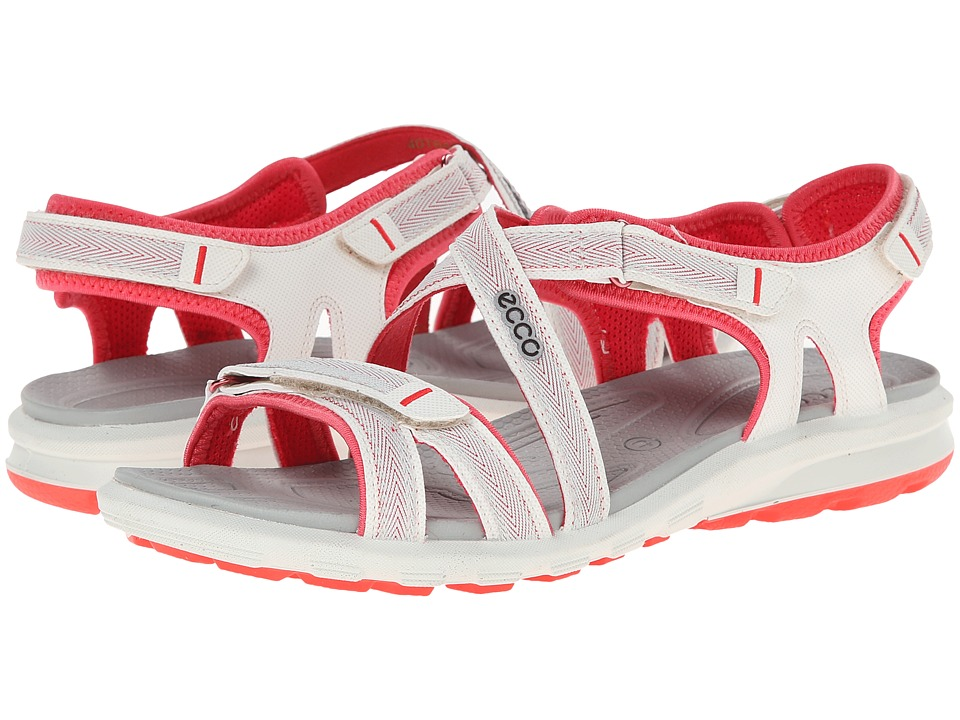 Ecco Performance - Cruise Strap Sandal (Shadow White/Teaberry) Women's Shoes