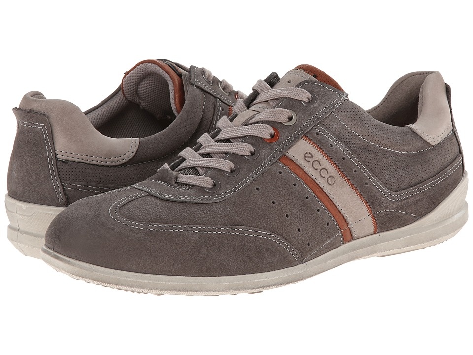 ECCO - Chander Casual Tie (Warm Grey/Mahogany/Moon Rock) Men's Lace up casual Shoes