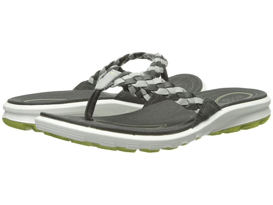 ECCO Sport - Cruise Thong Sandal (Dark Shadow/Concrete/Peppermint) Women's Shoes