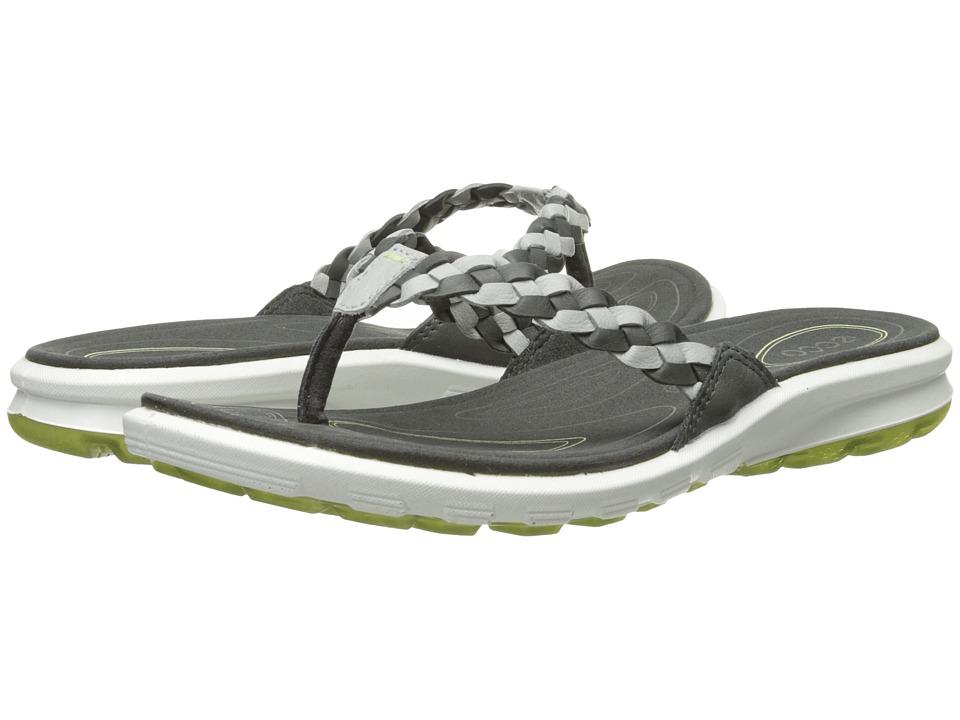 ECCO Sport Cruise Thong Sandal (Dark Shadow/Concrete/Peppermint) Women