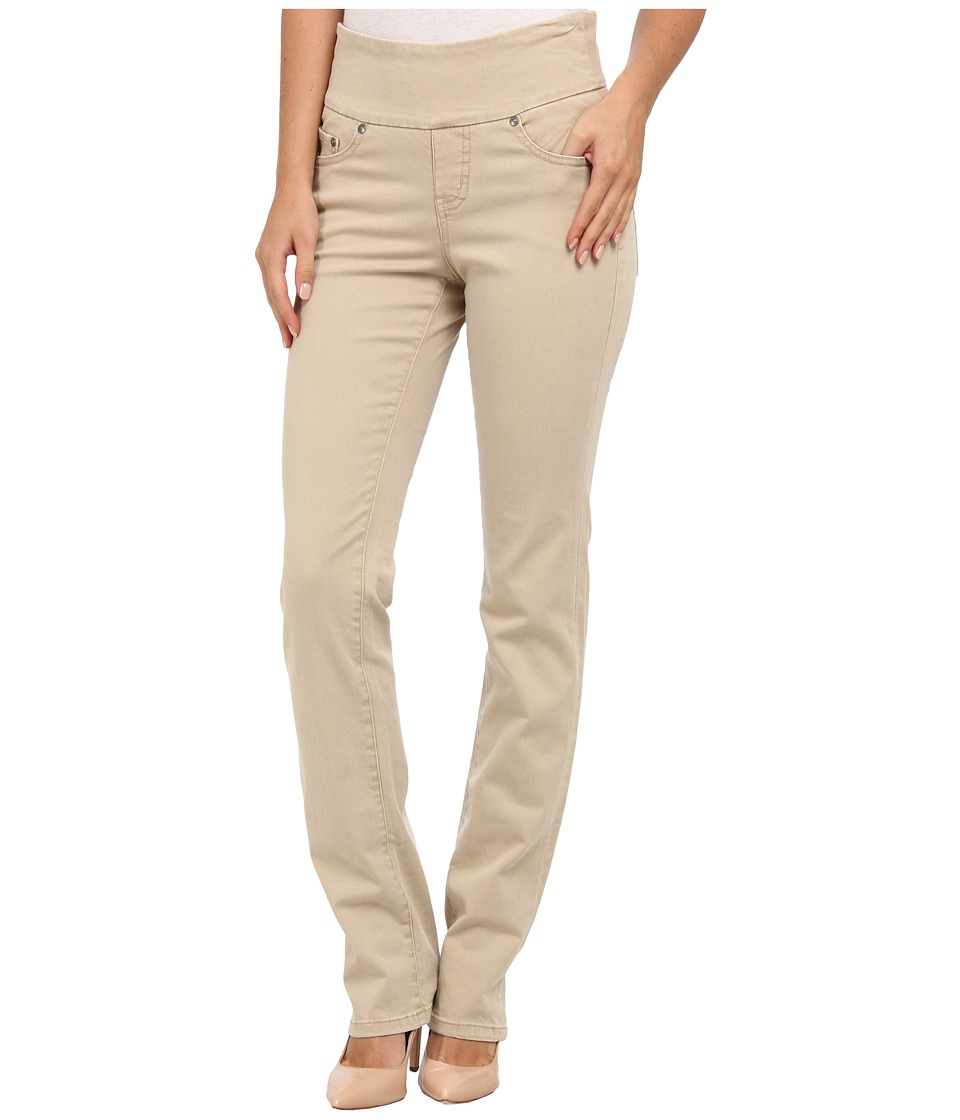 Jag Jeans - Peri Pull-On Straight Heritage Twill (Sesame) Women's Casual Pants