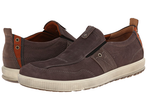 ECCO - Ennio Casual Slip-On (Mocha/Espresso) Men's Slip on Shoes