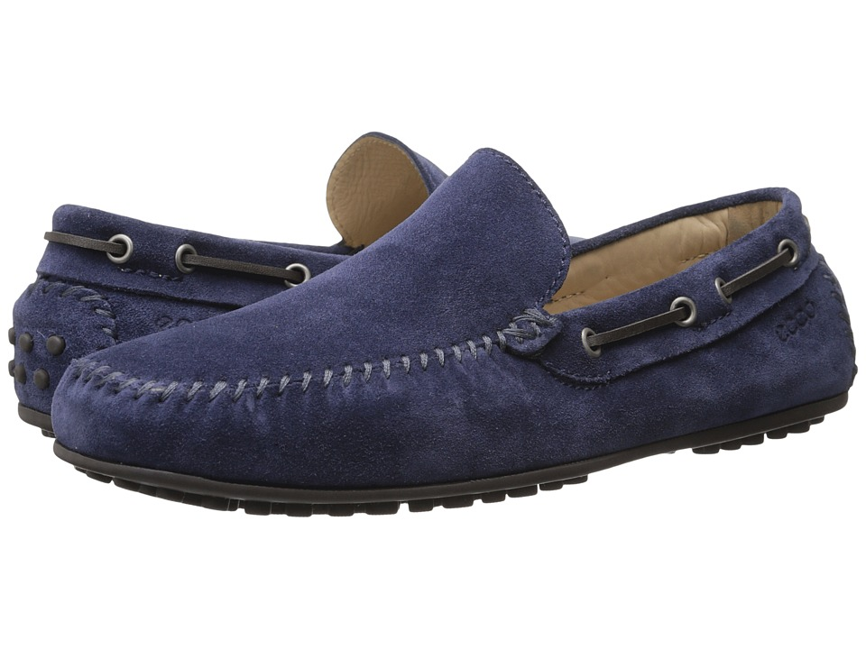 ECCO - Hybrid Moc (Medieval Cow Suede) Men's Moccasin Shoes