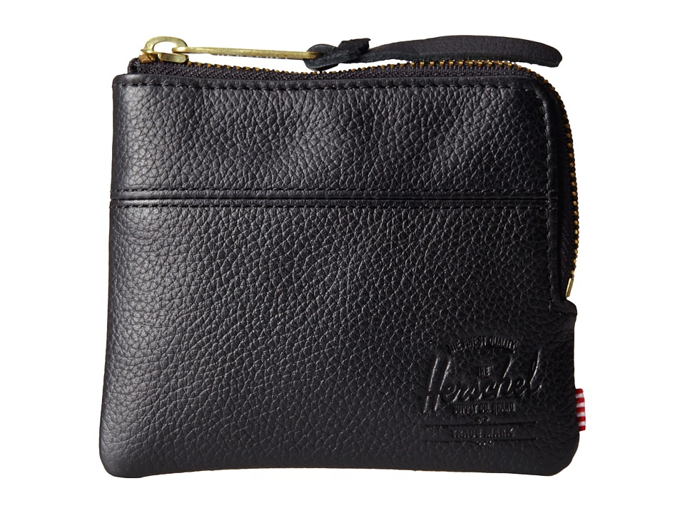 Herschel Supply Co. - Johnny Plus (Black) Wallet Handbags