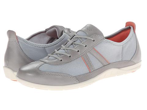ECCO - Bluma Summer Sneaker (Wild Dove/Concrete/Coral) Women