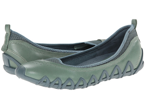 ECCO - Dayla Ballerina (Ice Flower/Troopper) Women's Shoes