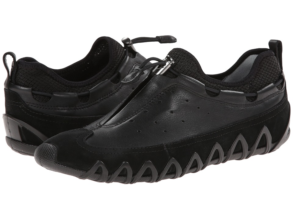 ECCO - Dayla Toggle (Black/Black) Women's Shoes