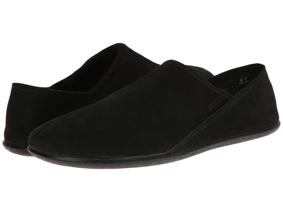 ECCO - Easy Slip-On (Black-Dark Shadow/Black) Men's Shoes