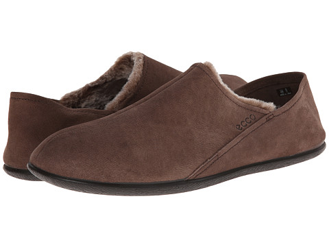 ECCO - Easy Slip-On (Licorice-Dark Clay/Mocha) Men's Shoes