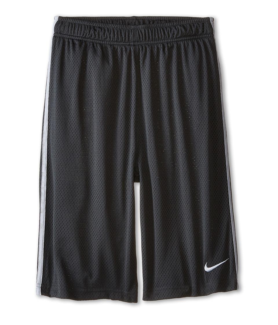 Nike Kids - Monster Mesh Short (Little Kids/Big Kids) (Anthracite/Wolf Grey/Wolf Grey) Boy's Shorts