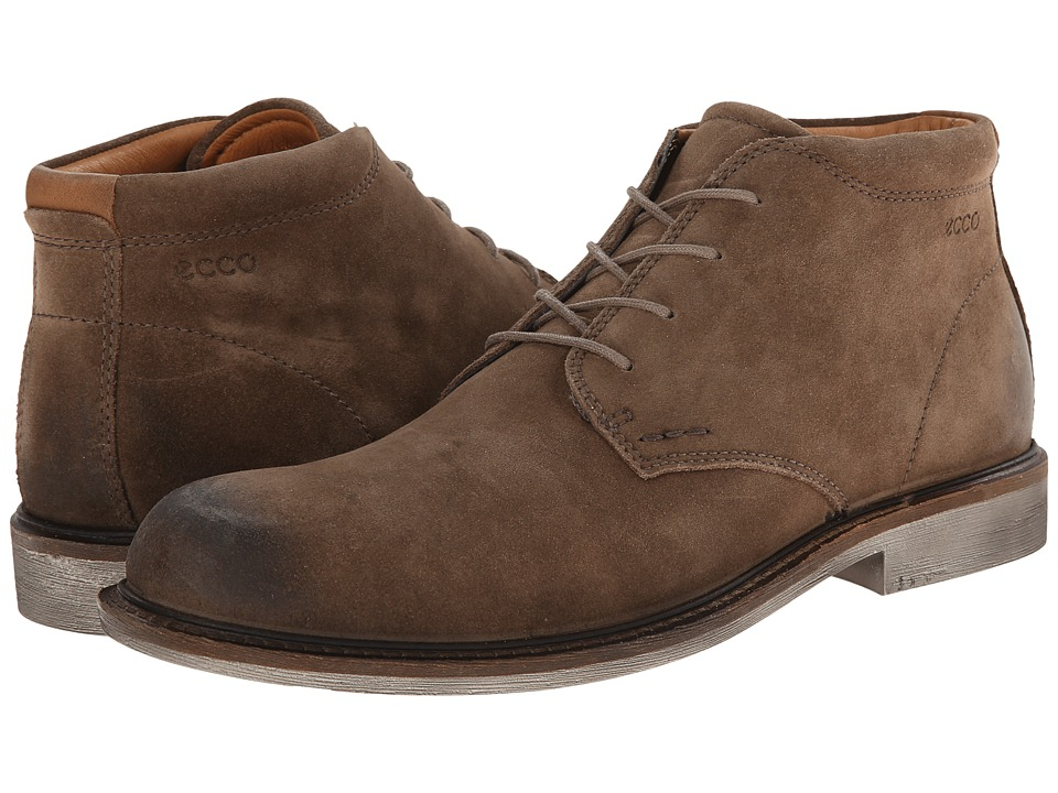 ECCO - Findlay Chukka Boot (Birch/Walnut) Men's Lace-up Boots