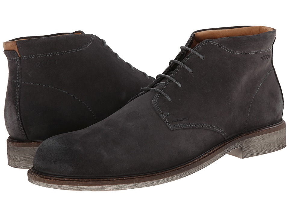 ECCO - Findlay Chukka Boot (Moonless/Walnut) Men
