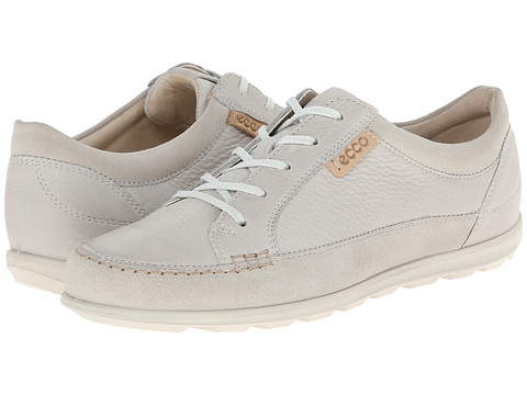ECCO - Cayla Tie (Gravel/Shadow White) Women's Lace up casual Shoes