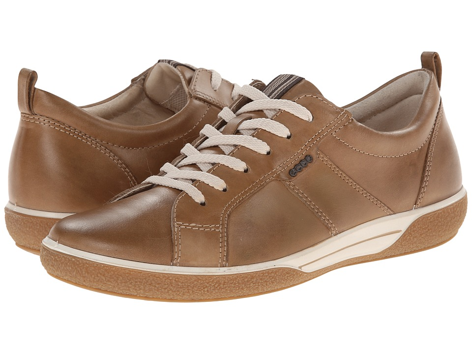 ECCO - Chase Tie (Sand) Women's Lace up casual Shoes