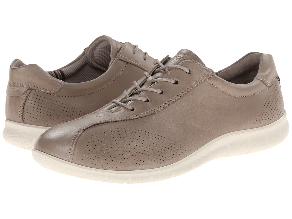 ECCO - Babett Tie (Moon Rock) Women's Lace up casual Shoes
