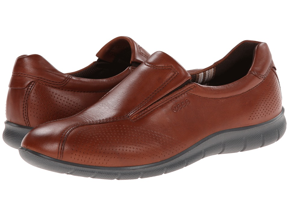 ECCO - Babett Slip On (Mahogany) Women's Shoes