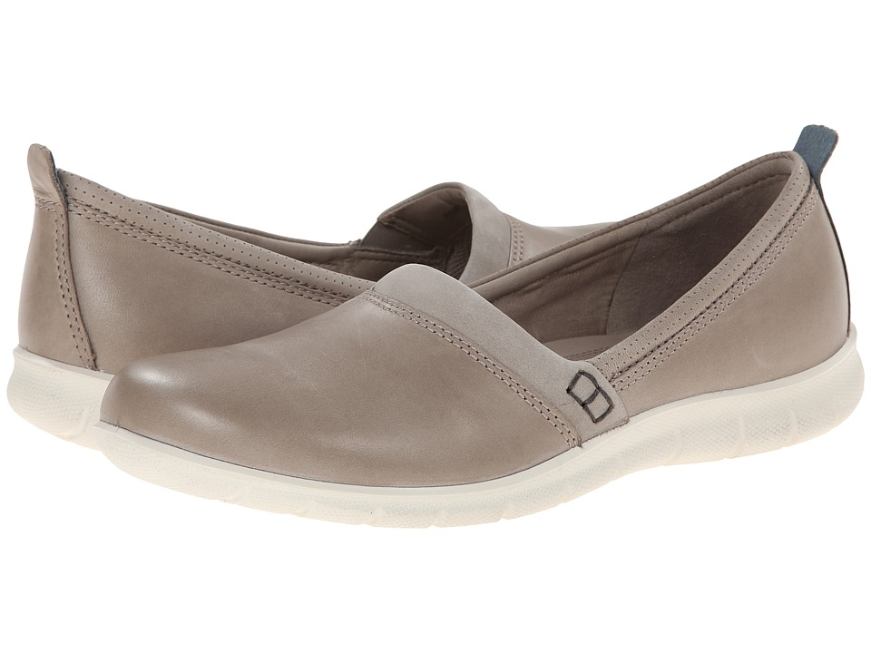 ECCO - Babett Clog Slip On (Moon Rock/Moon Rock) Women's Shoes