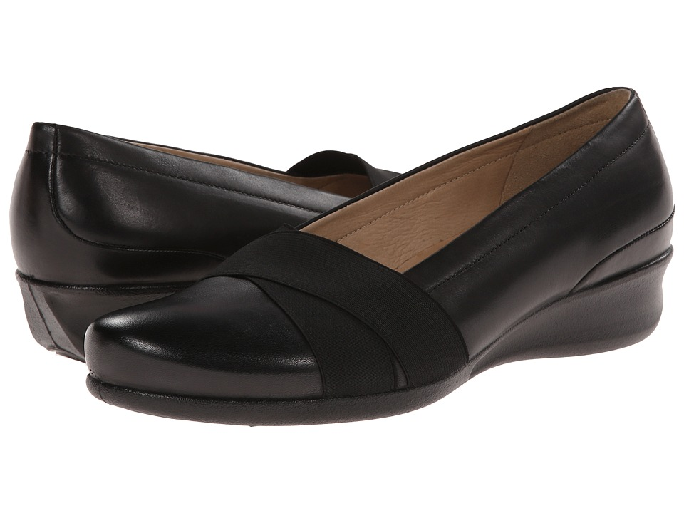 ECCO - Abelone Strap (Black) Women's Shoes