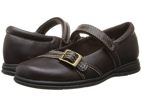 Rachel Kids - Meri (Little Kid/Big Kid) (Brown Smooth) Girls Shoes